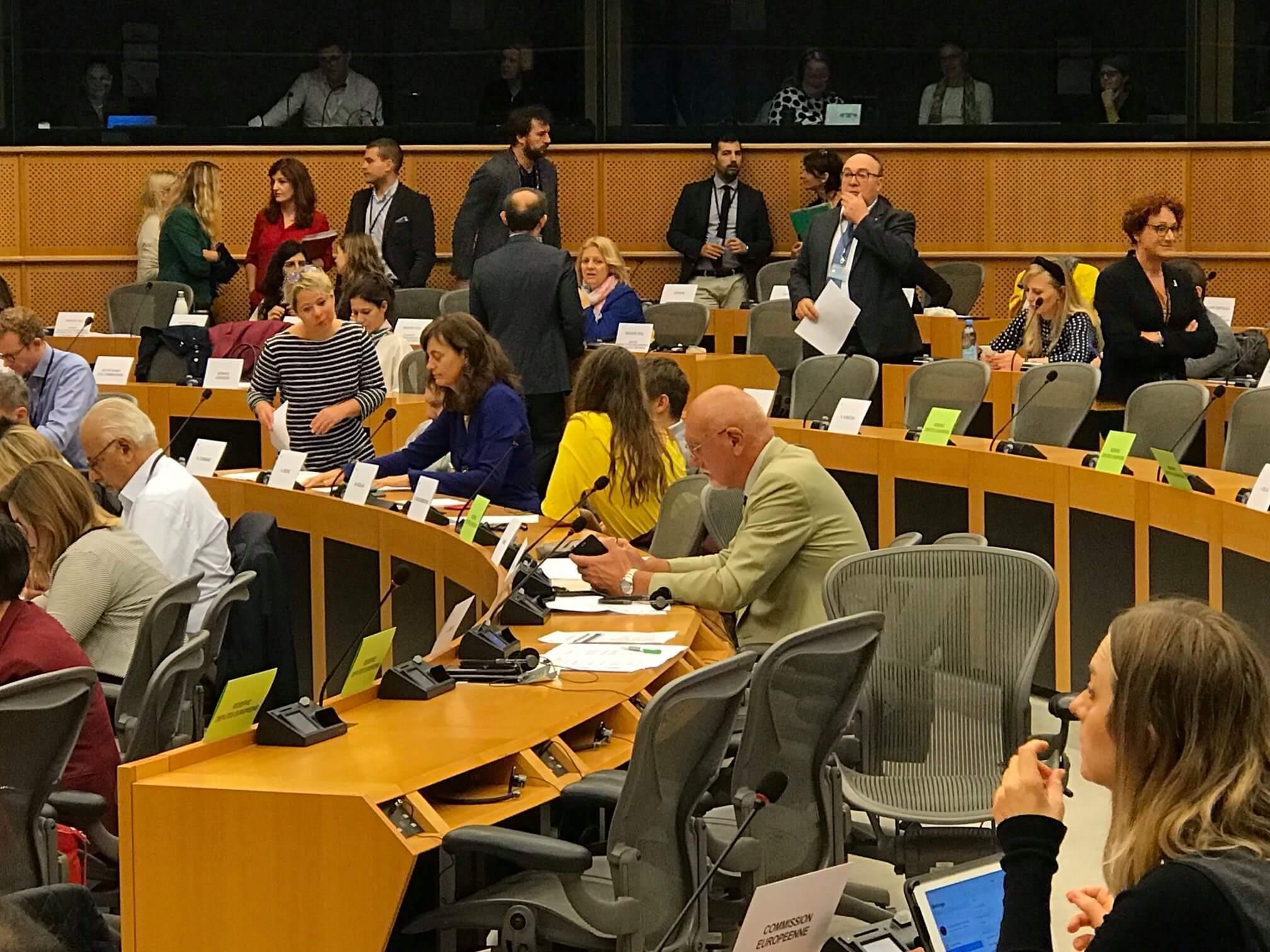 Zasedání EP Brusel